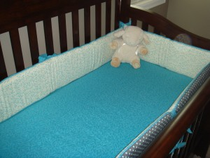 Crib Sheet and Bumpers