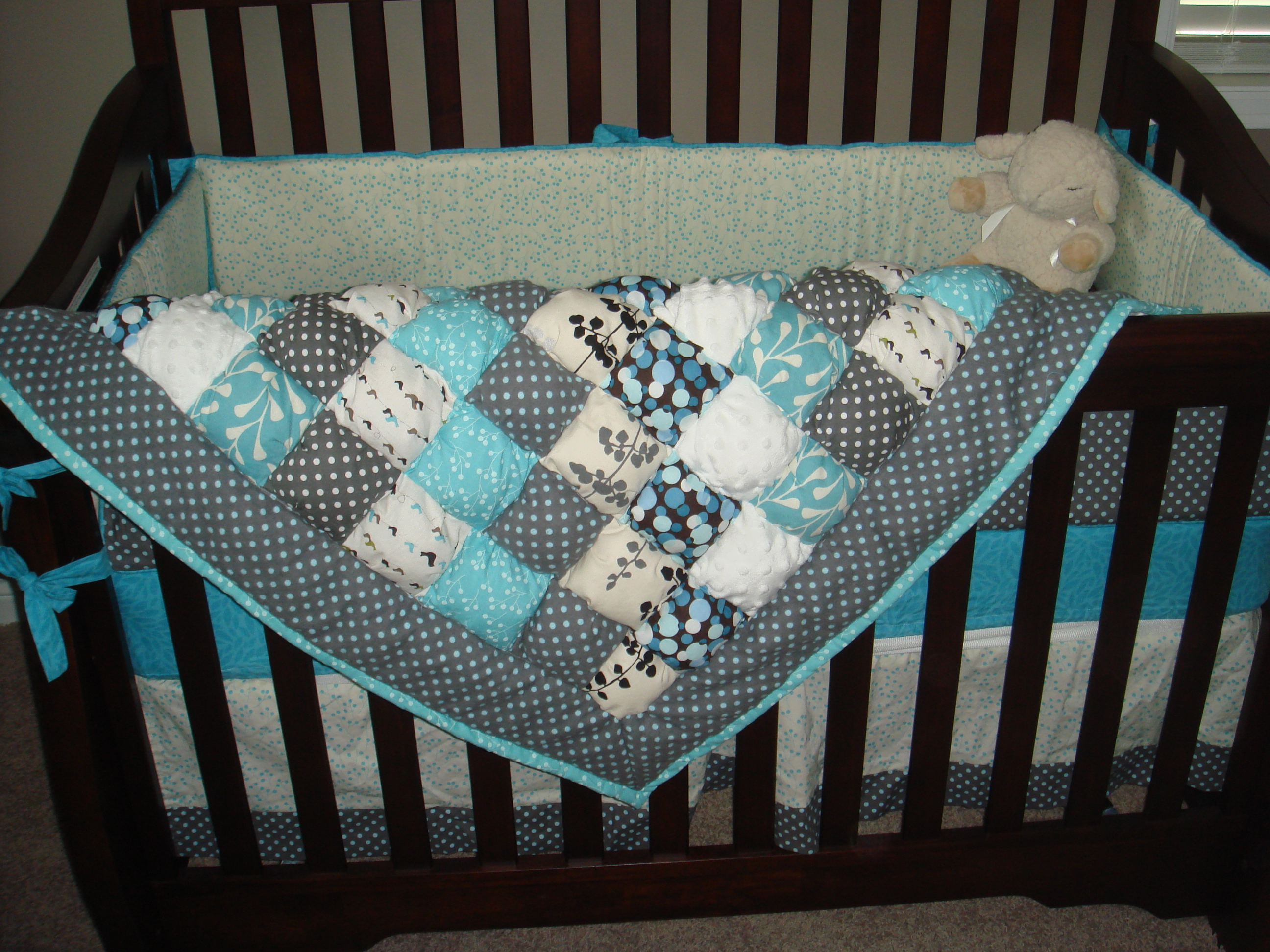 Get Your Very Own Puff Quilt! | Growing on Goofy : baby puff quilt - Adamdwight.com